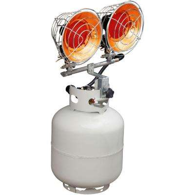 30,000 BTU Portable Dual Tank Top Heater