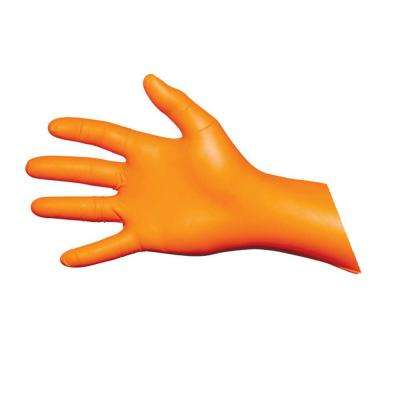 Extra Large Blaze Nitrile Exam Gloves (200-Count)