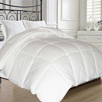 Feather and Down Fiber Blend King Comforter
