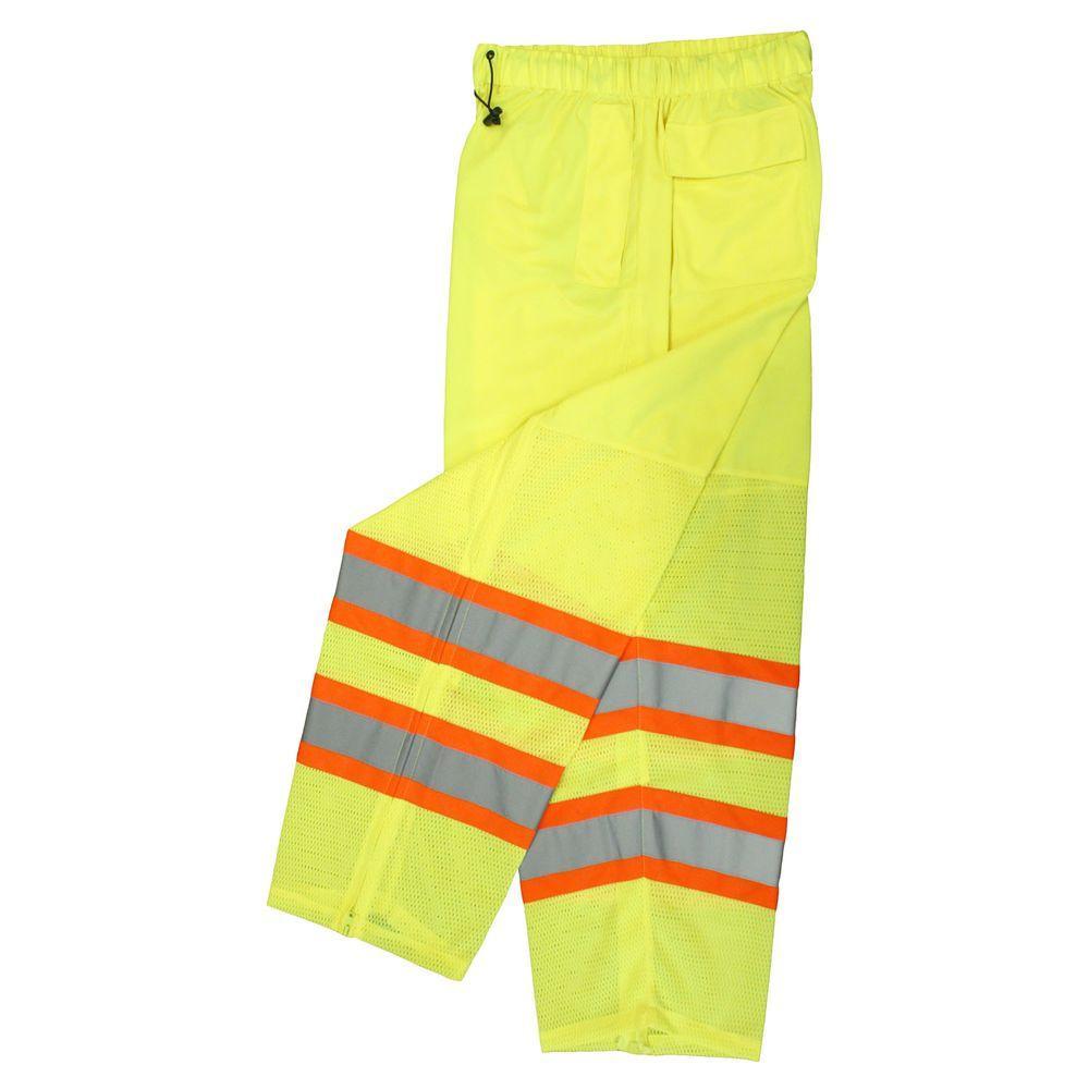 Radians Class E Waterproof Safety Pants Green Med/Lrg
