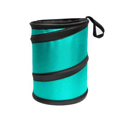 E-Z Travel 6.3 in. x 8.3 in. Small Collapsible Waterproof Trash Can