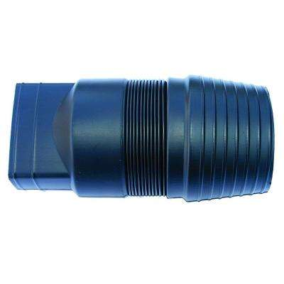 2 in. x 3 in. Polyethylene Expandable Downspout Adaptor