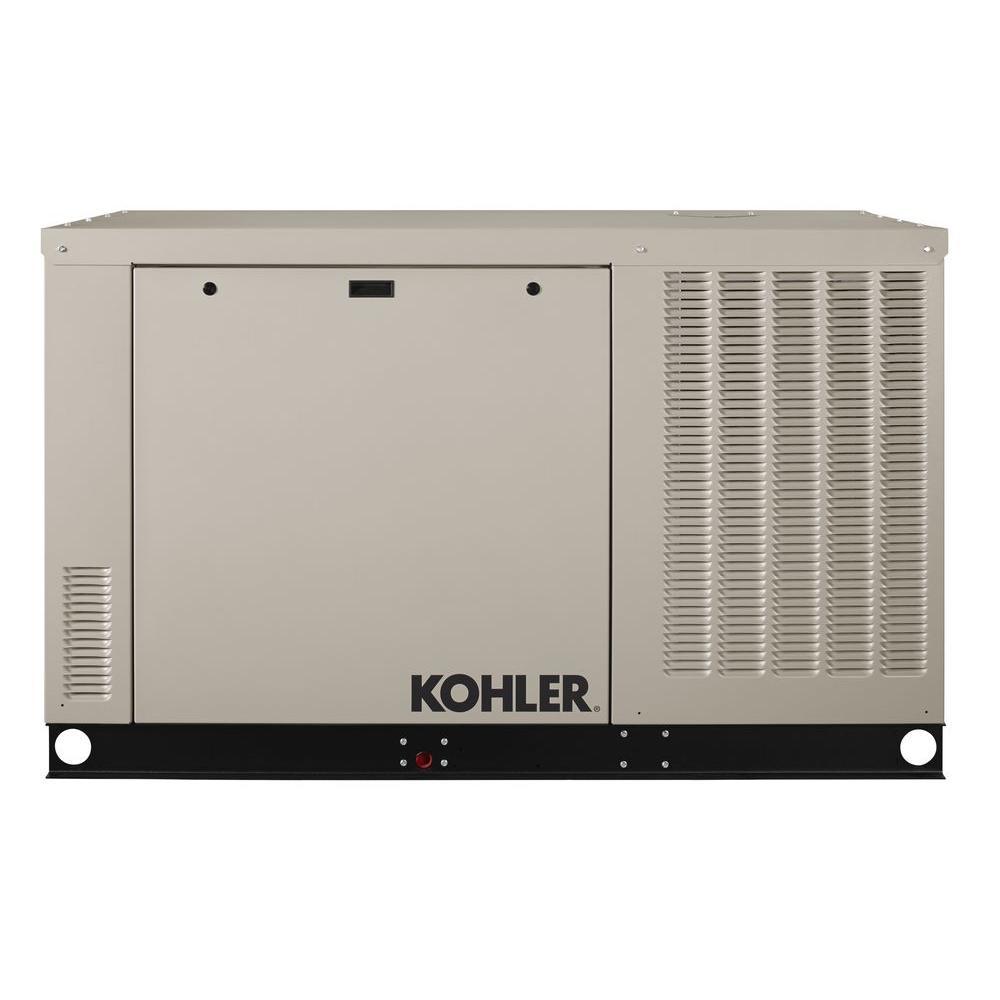 KOHLER 38,000-Watt Liquid Cooled Automatic Standby Generator