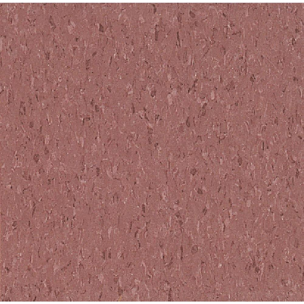 Armstrong Imperial Texture Vct 12 In X 12 In Cayenne Red Standard