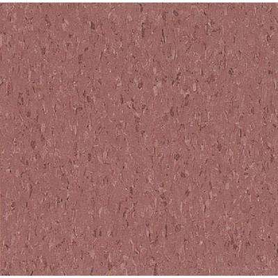 Imperial Texture VCT 12 in. x 12 in. Cayenne Red Standard Excelon Commercial Vinyl Tile (45 sq. ft. / case)