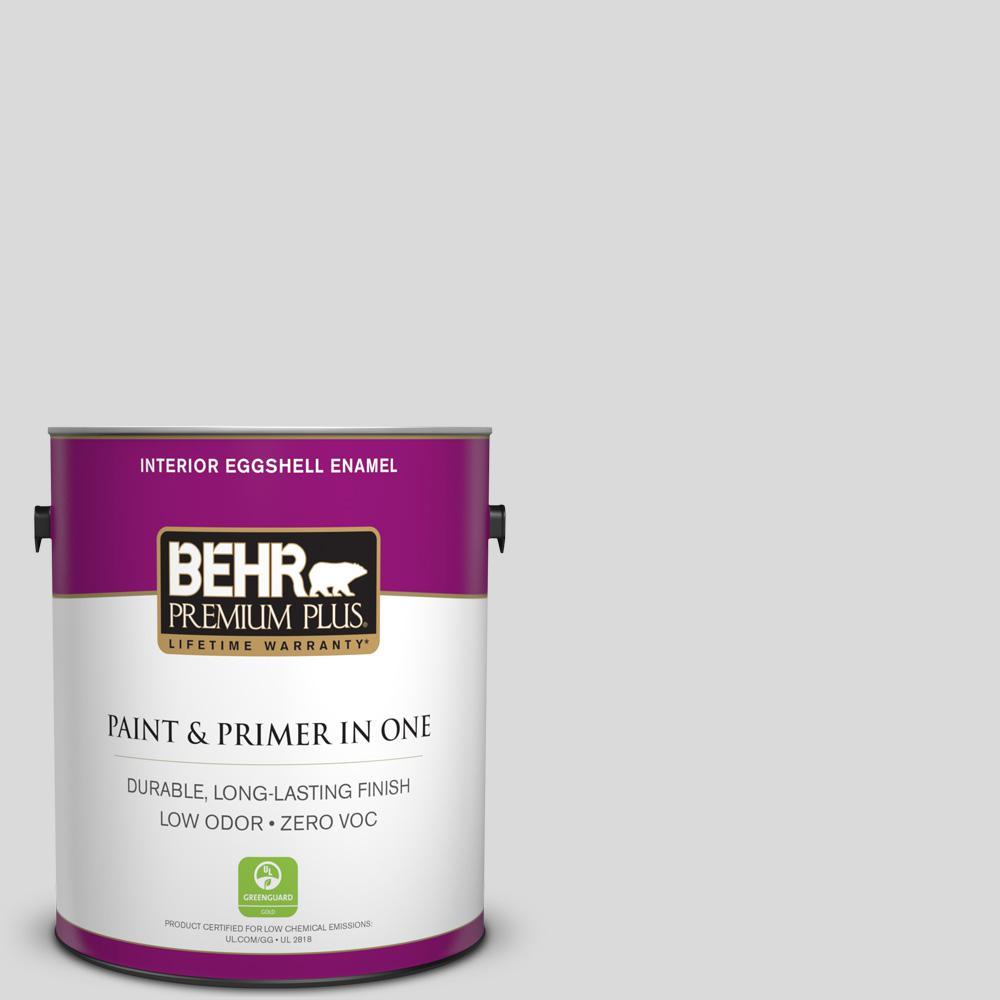 BEHR Premium Plus 1-gal. #790E-1 Subtle Touch Zero VOC Eggshell Enamel Interior Paint