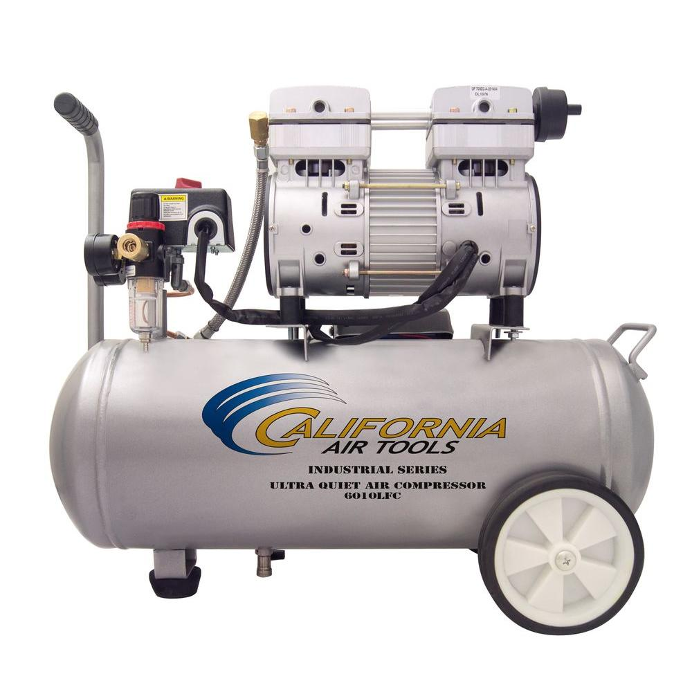 California Air Tools 6 0 Gal 1 0 Hp Ultra Quiet And Oil