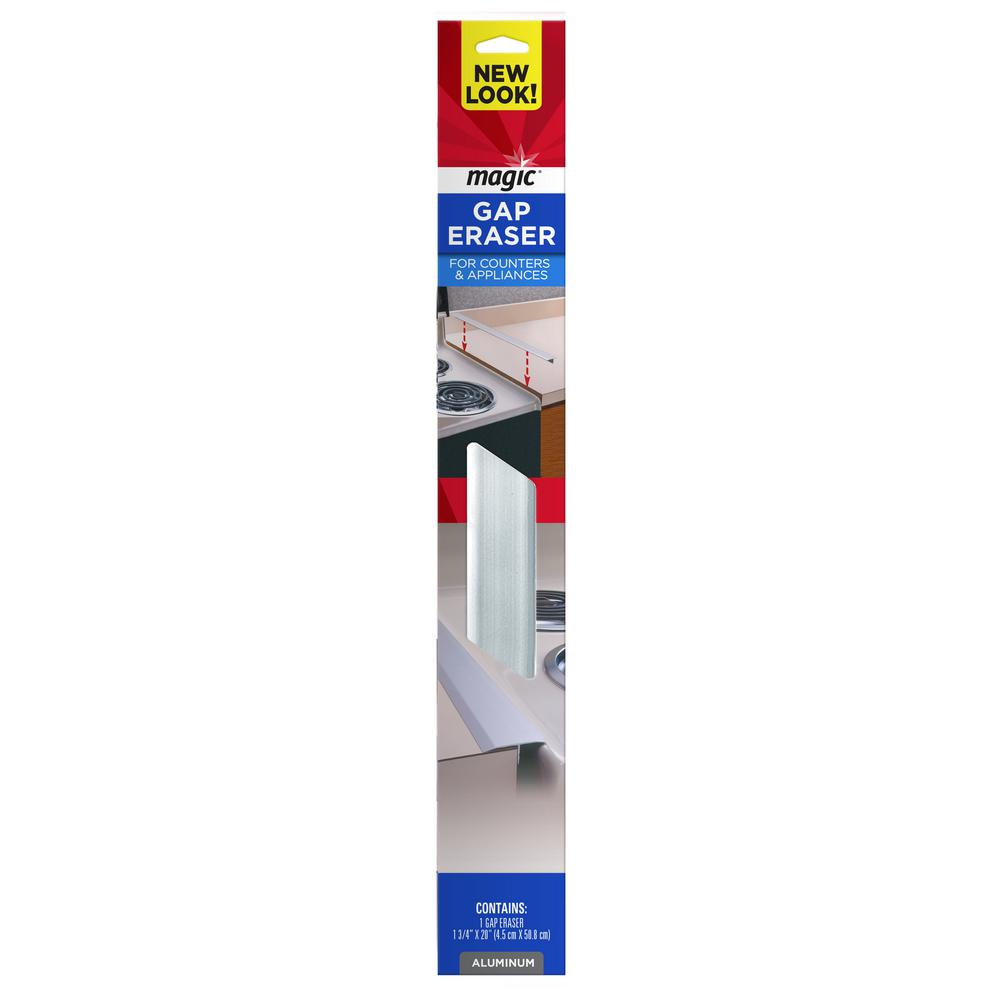 1-1/4 in. x 20 in. Counter and Appliance Gap Eraser in