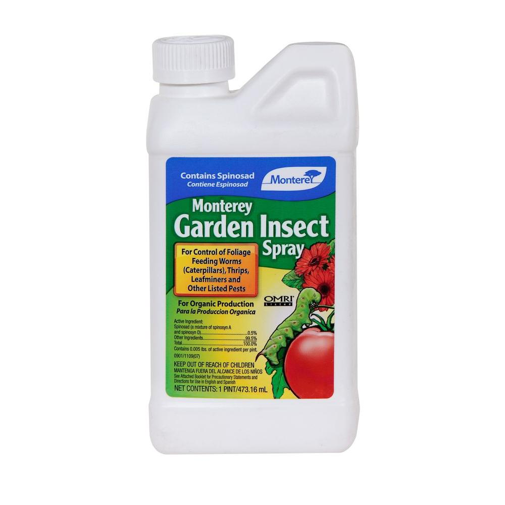 Monterey Garden Insect Spray With Spinosad Pts