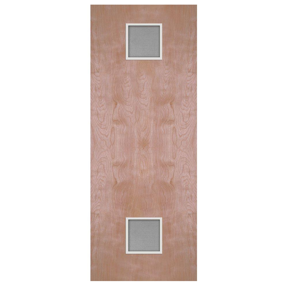 24 in. x 80 in. Smooth Flush Hardwood Solid Core Birch