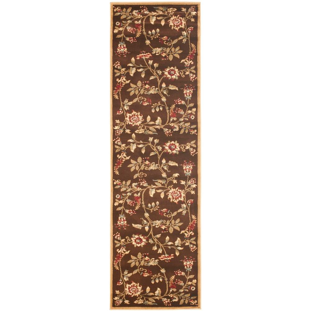 Safavieh Lyndhurst Brown/Multi 2 ft. 3 in. x 12 ft. Runner