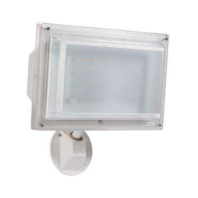 180° White Outdoor Integrated LED Severe Weather Wall Pack Light