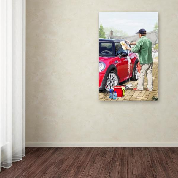 32 In X 22 In Carwash 2 By The Macneil Studio Printed Canvas Wall Art