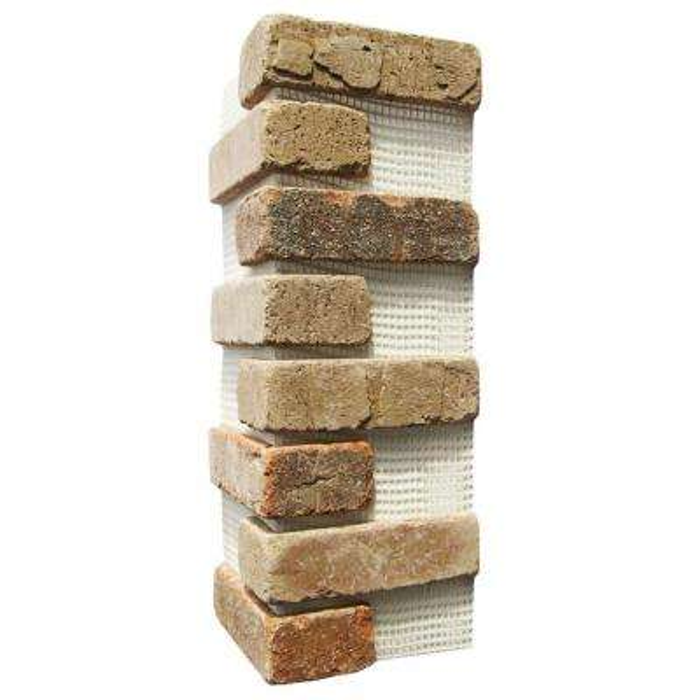 Promontory Brickweb 15 in. x 15 in. x 0.5 in. Thin Brick Corners