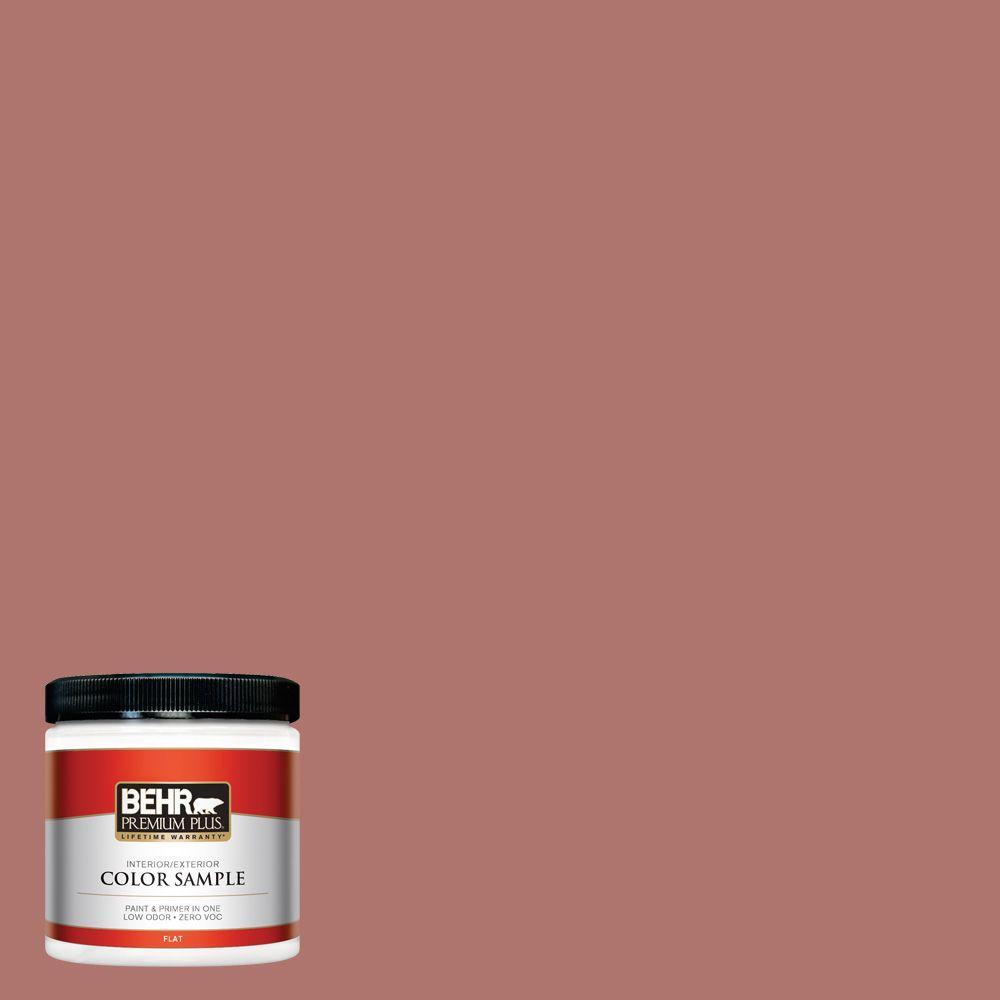 BEHR Premium Plus 8 oz. #S160-5 Hot Chili Interior/Exterior Paint Sample