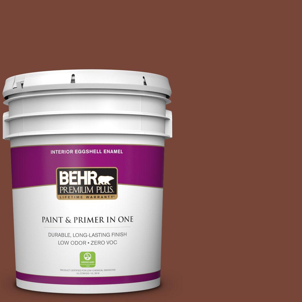 5 gal. #240F-7 Root Beer Zero VOC Eggshell Enamel Interior Paint