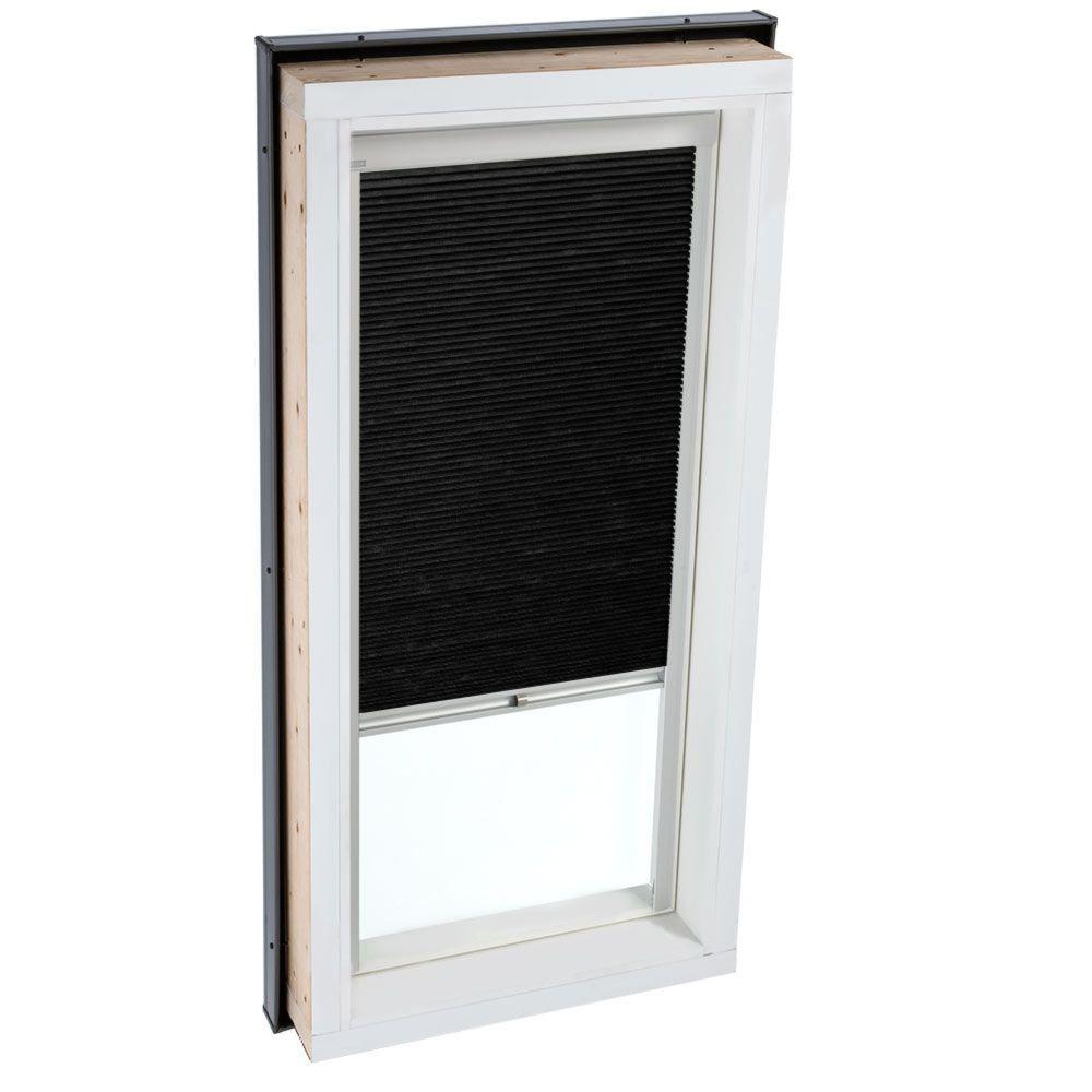 Manual Room Darkening Charcoal Skylight Blinds for FCM 3446 Models