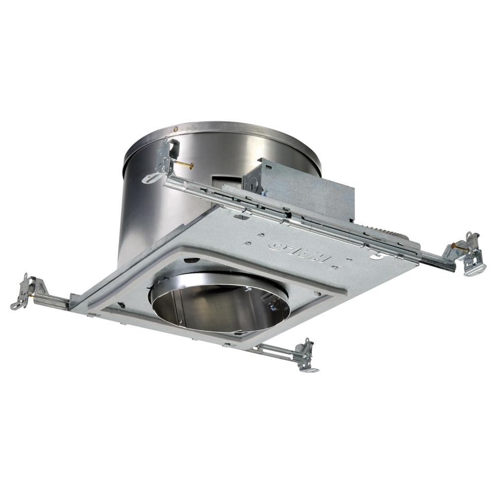 Halo H47 6 in. Aluminum Recessed Lighting Housing for New Construction Sloped Ceiling, Insulation Contact, Air-Tite