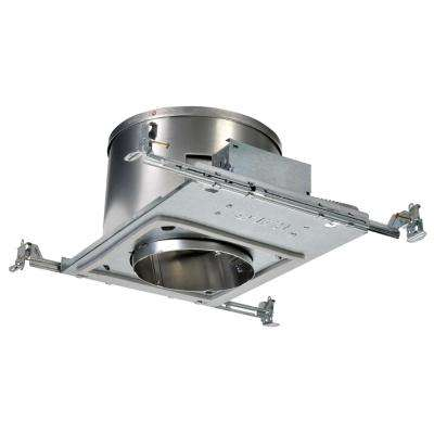 H47 6 in. Aluminum Recessed Lighting Housing for New Construction Sloped Ceiling, Insulation Contact, Air-Tite
