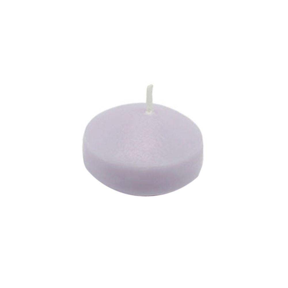 Zest Candle 1.75 in. Lavender Floating Candles (Box of 24)