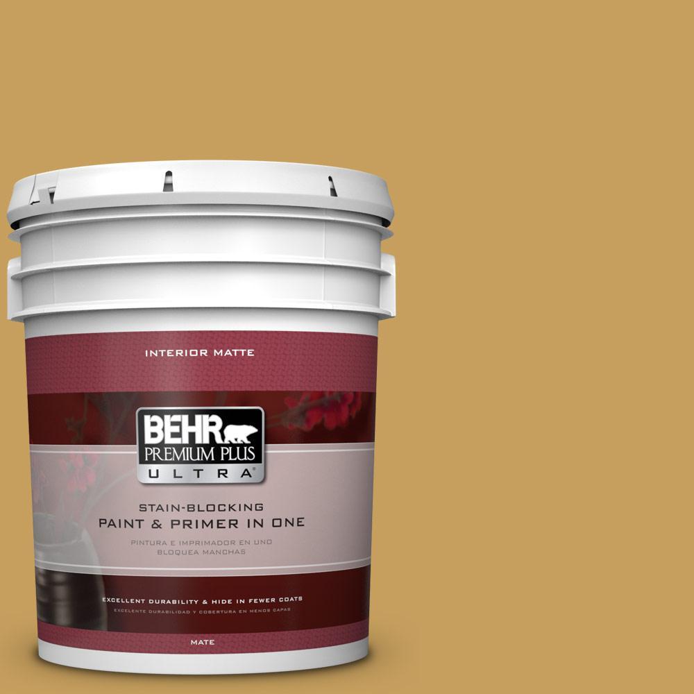 5 gal. #M300-5 Ginger Jar Matte Interior Paint