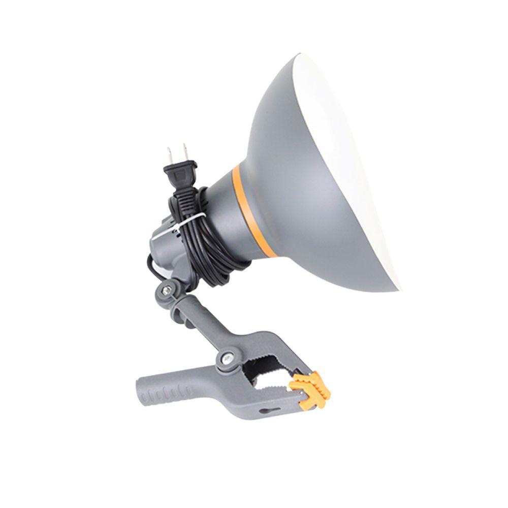 FlareAlert 75-Watt PVC Clamp Lamp