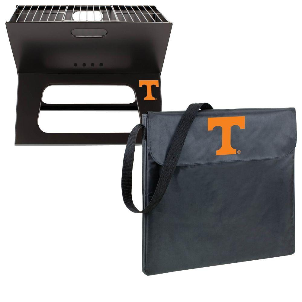 Picnic Time X-Grill Tennessee Folding Portable Charcoal Grill