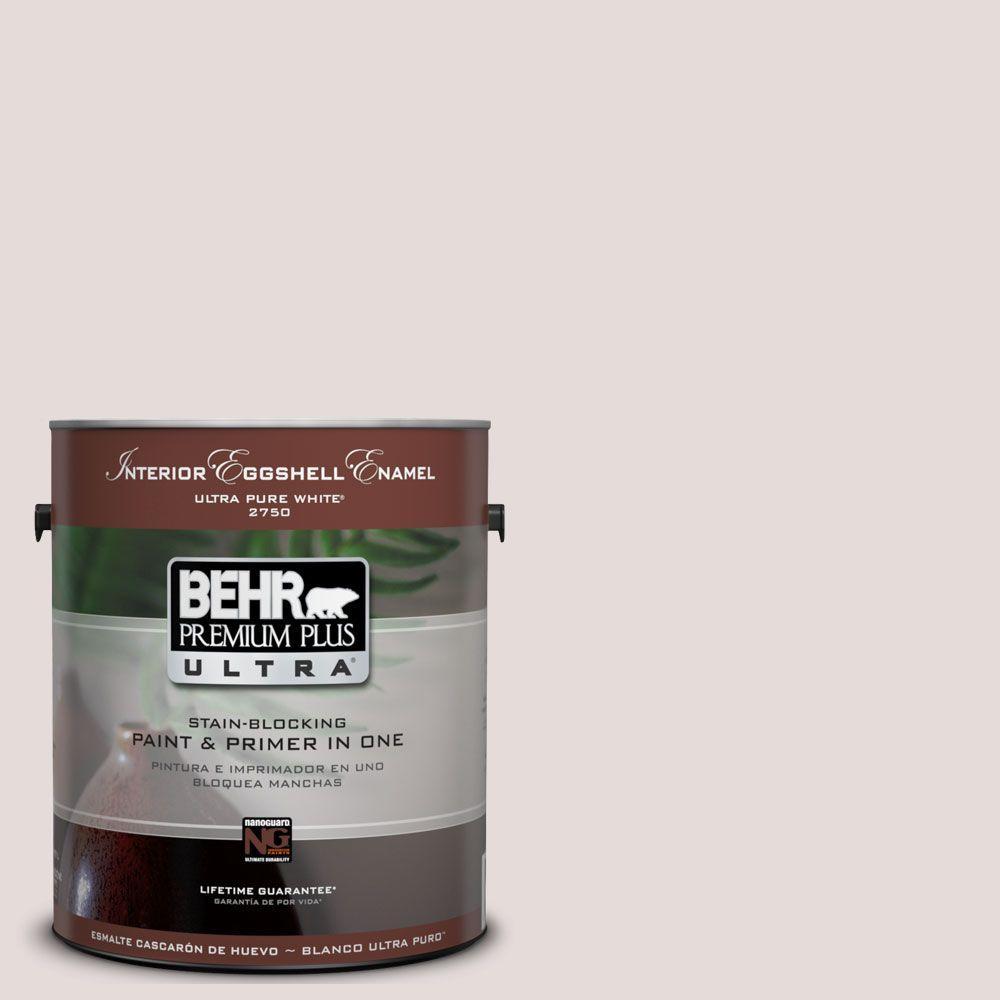 BEHR Premium Plus Ultra 1-Gal. #UL250-12 Crushed Peony Interior Eggshell Enamel Paint
