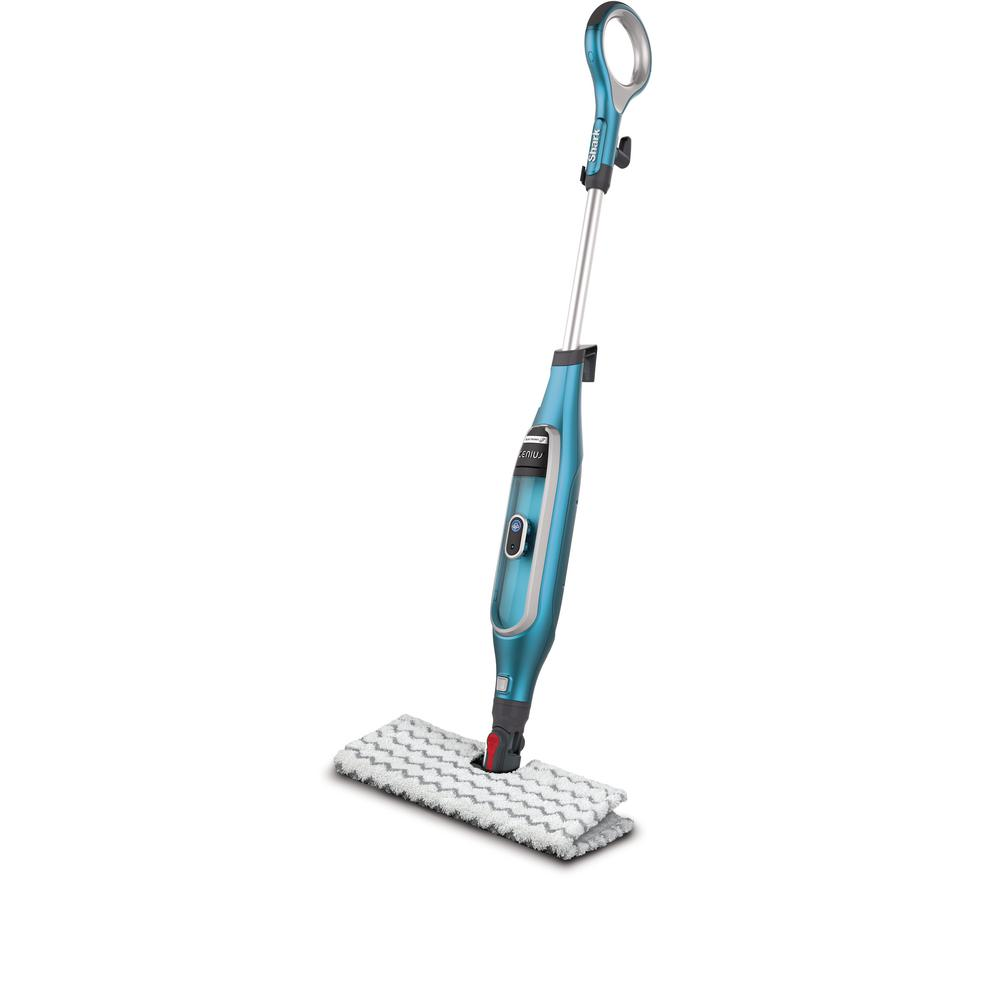 Steam mops hard surface cleaners the home depot genius steam pocket mop system steam cleaner dailygadgetfo Image collections