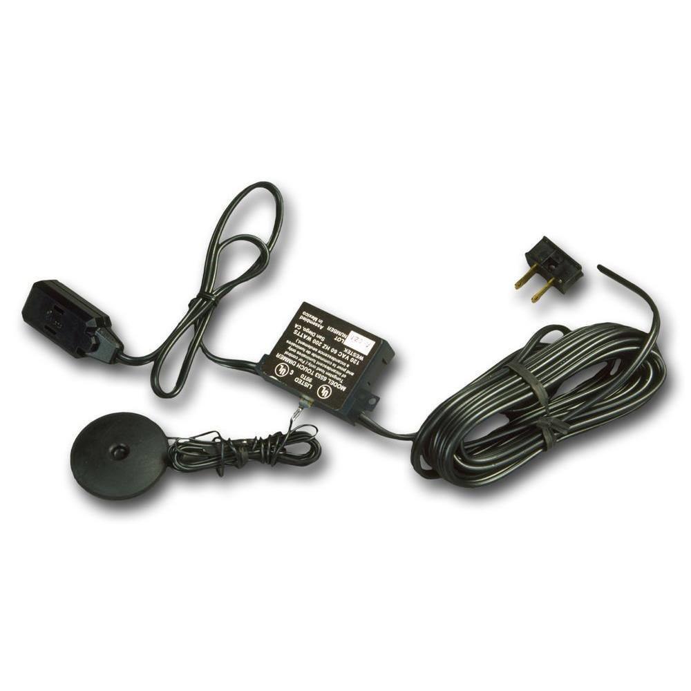 Westek Low Voltage Black Multi Transformer Touch Pad Dimmer