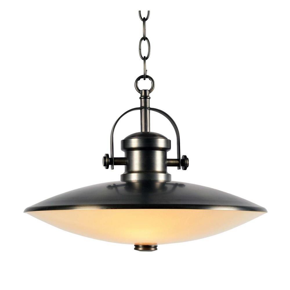 Kenroy Home Phoenix 3 Light Gunmetal Pendant