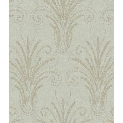 56 sq. ft. Candlewick Wallpaper
