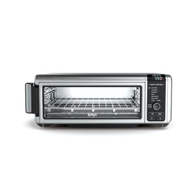 Stainless Steel Foodi Digital Air Fry Oven, Convection Oven, Toaster, Air Fryer, Flip-Away for Storage