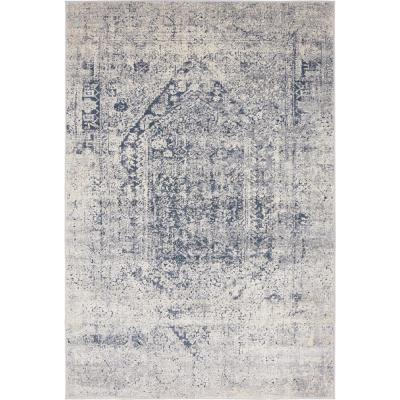 Chateau Quincy Gray 4' 0 x 6' 0 Area Rug