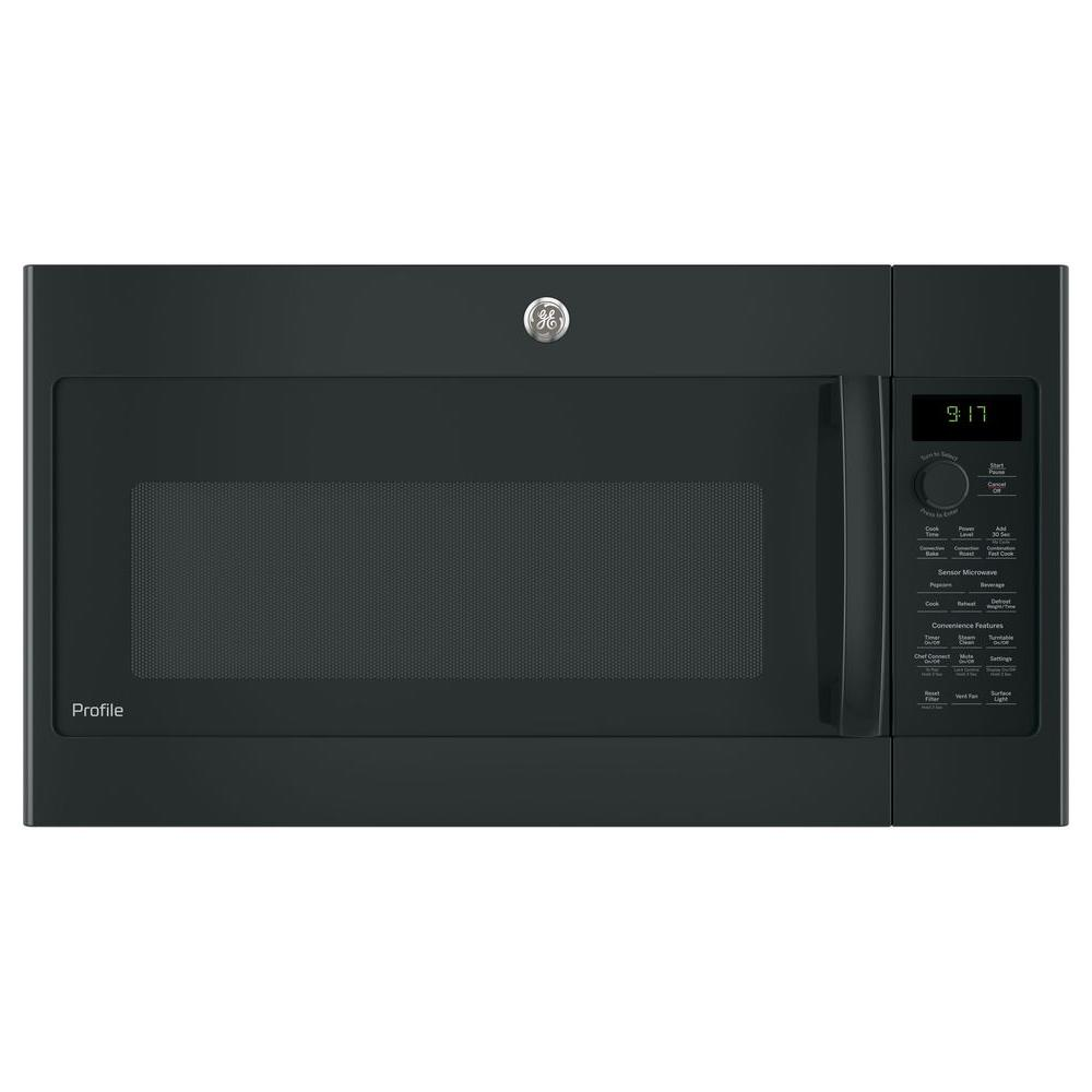 Convection Over The Range Microwave In Black