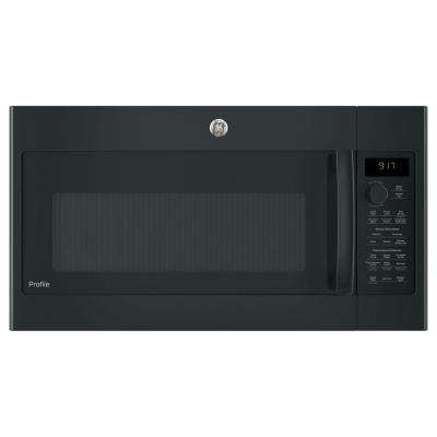 1.7 cu. ft. Convection Over-the-Range Microwave Oven in Black