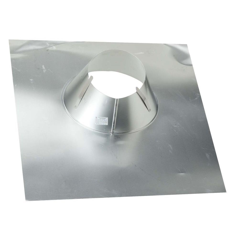 Construction Metals 4 In Aluminum Code Cap Base Flashing