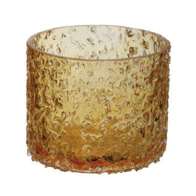 3 in. Sunglow Rock Salt Votive Candle Holder
