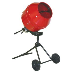 ProForce 1/2 HP Portable Cement Mixer-105890DPT - The Home ...