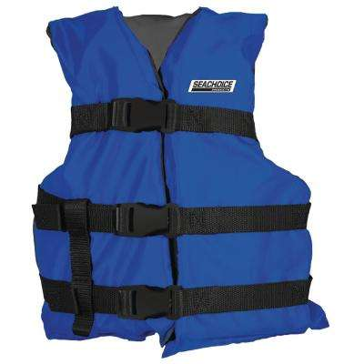 Size: Adult Universal General Purpose Life Vest for 90 lbs. and up Weight