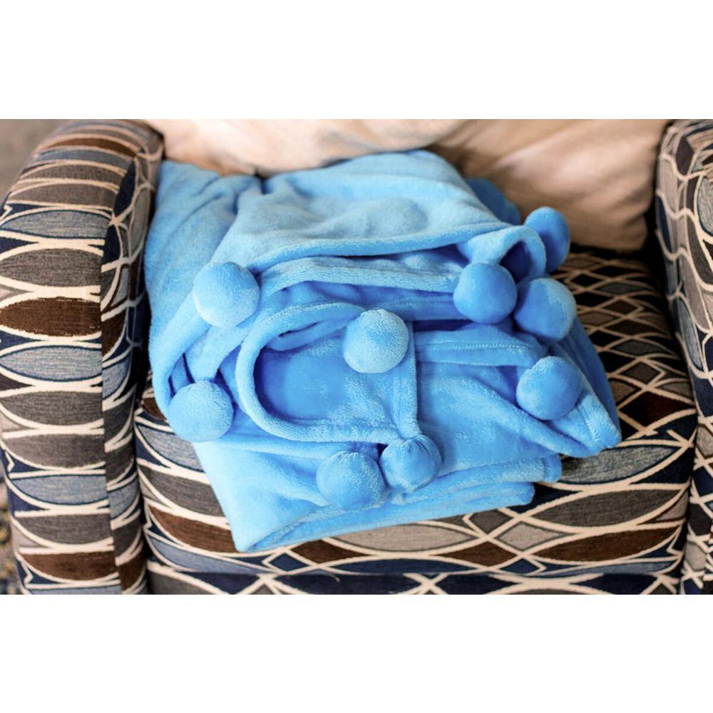 Azalea Skye Salma Pom Pom Throw Blanket