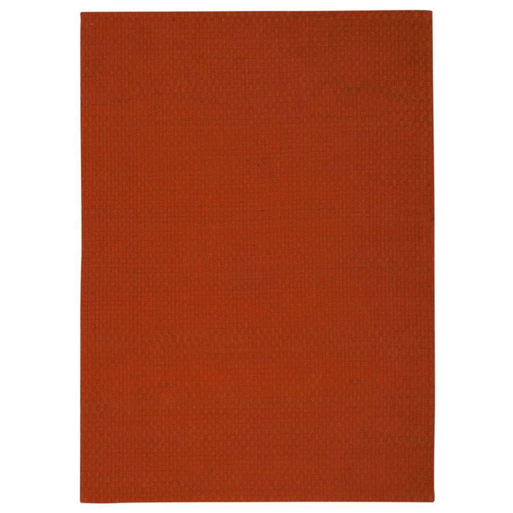 Sojourn Orange 5 ft. x 7 ft. Area Rug