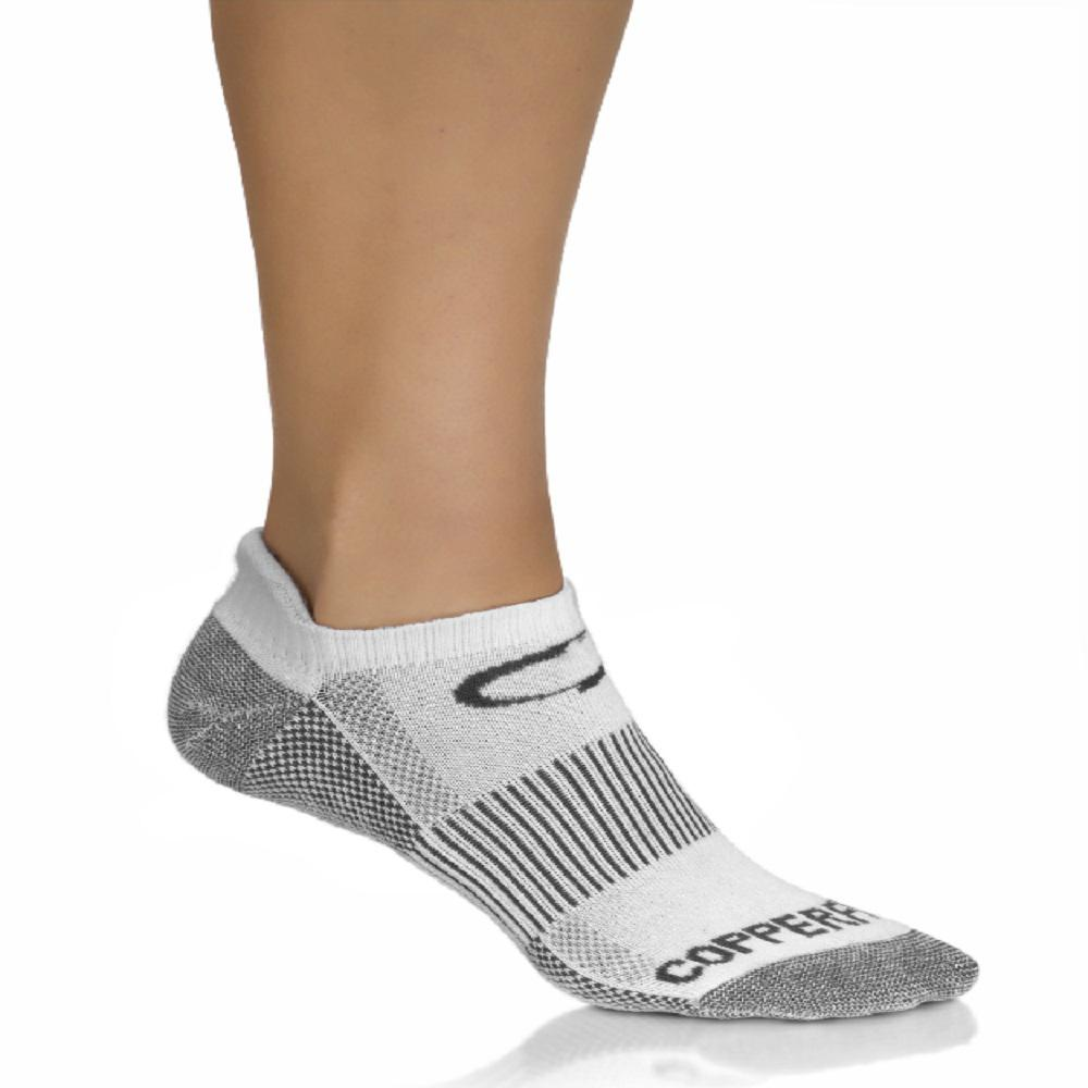 1efab31bc COPPER FIT Large X-Large White Copper Infused Support Socks (3-Pack ...