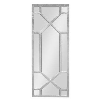 Vanderford Decorative Wall Mirror Other Silver