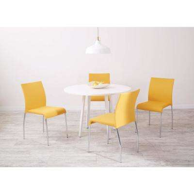 Conway Nugget Fabric Stacking Chairs (Set of 4)