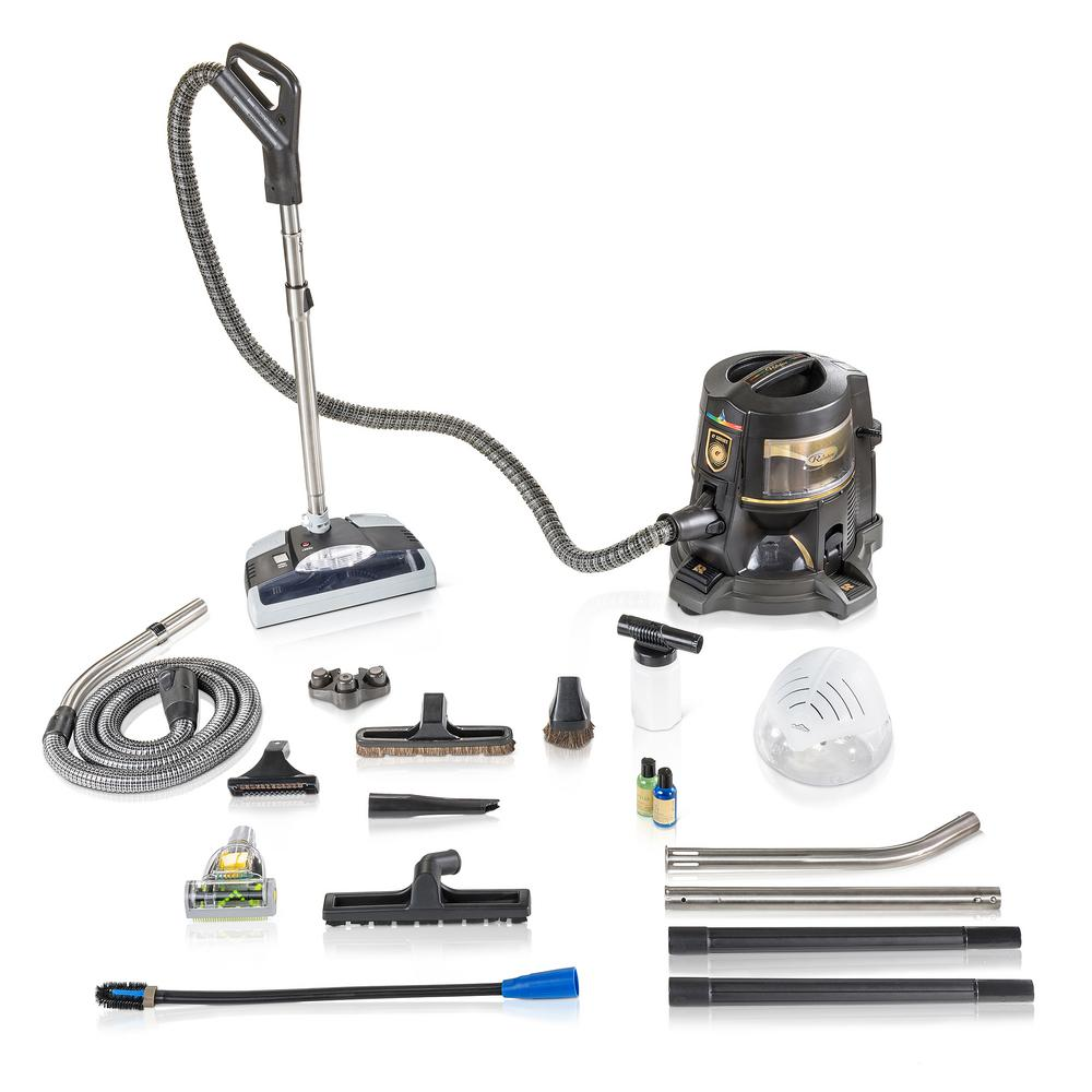 Rainbow Reconditioned E Series E2 Gold 2 Speed Canister Vacuum Cleaner with E2 Hoses and GV PowerHead