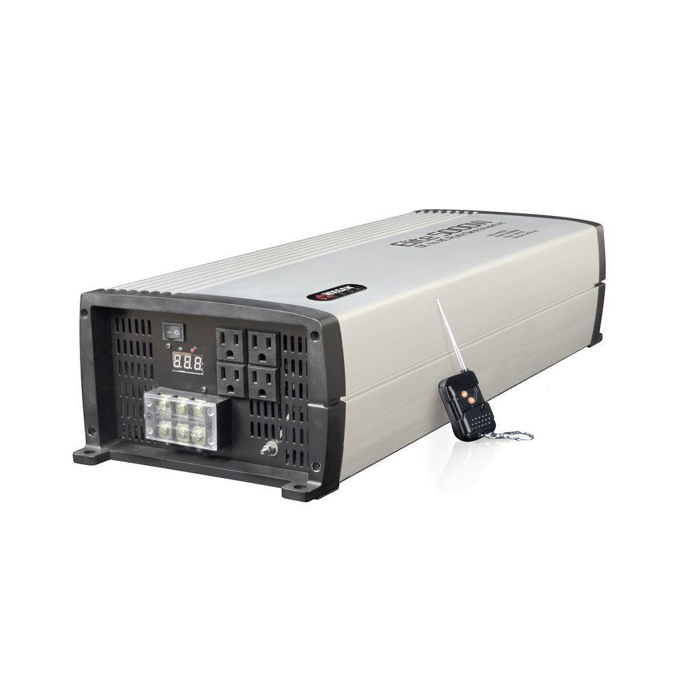 Wagan Tech Elite 5000-Watt Pure Sine Wave Inverter