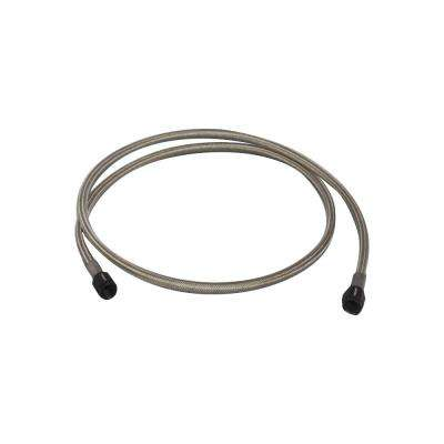 Univ Oil Feed Kit 3ft Teflon lined S.S. hose with two -3AN female fittings preassembled