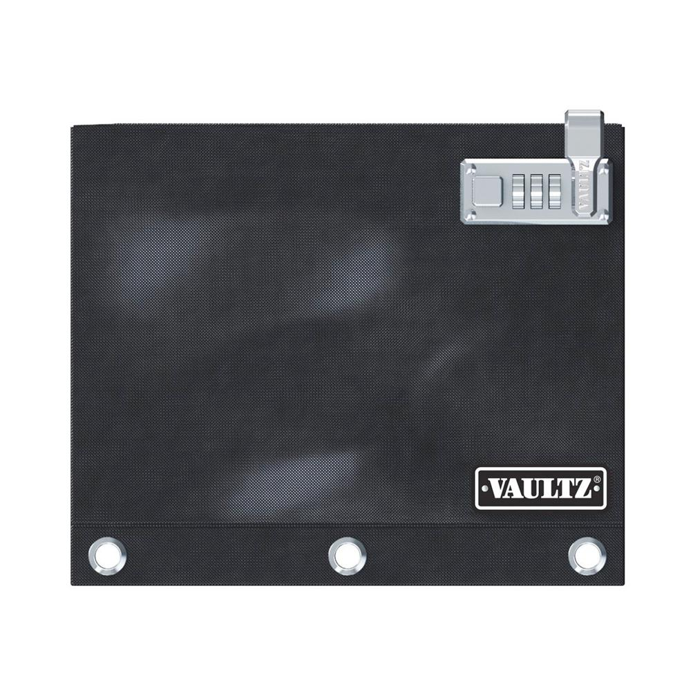 Vaultz Locking Binder Pouch-Black