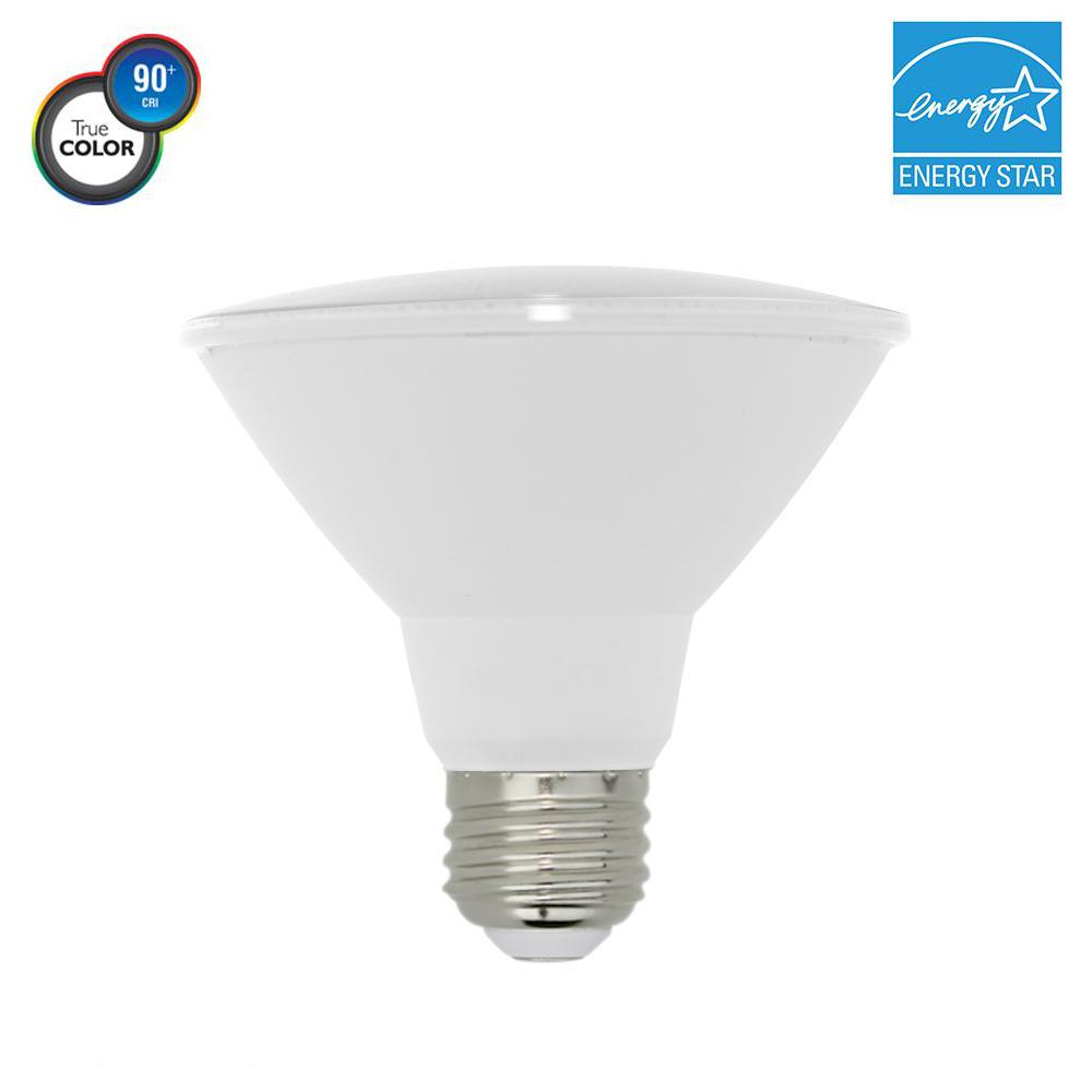 75W Equivalent PAR30 Short Neck Dimmable LED Light Bulb, Warm White